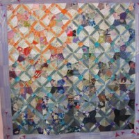 Subtle fabric shifts in Japanese quilts