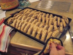 Wheat-free spelt anise biscotti recipe
