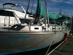 Bellingham, repairs & visit with our old sailboat Sandingo