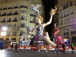 Valencia, Spain, the Fallas festival