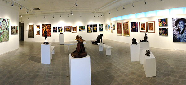 Figures On The Coast, group show at GPAG, Gibsons, BC, February 2013