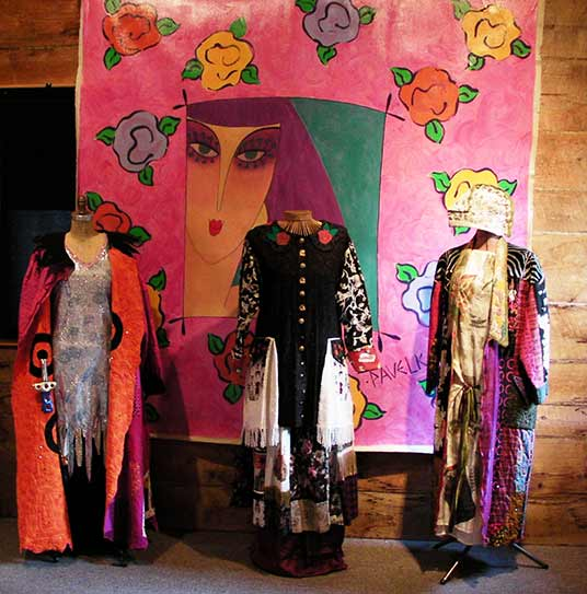 Paula-O'Brien-wearable-art-garments, wearable art coats, Paula Seifred O'Brien, Pavelka