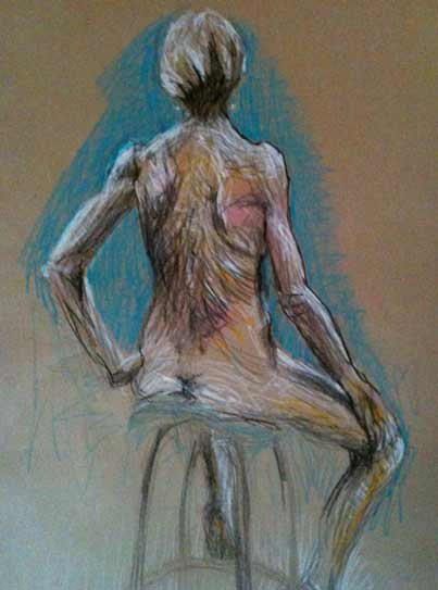 colorful nude life drawing6