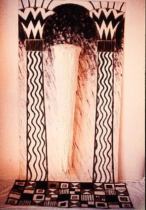 Paula O'Brien, Paula Seifred, textile artist, Fortuny pleated silk dress, machine shadow embroidery, Pavelka Design, art textiles