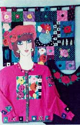 22_button collector, Pavelka Design Independent sewing patterns, interesting sewing patterns, decorated applique jacket and quilt pattern