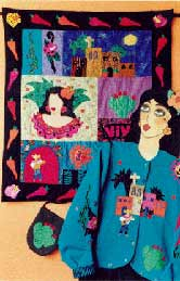 23_chili Mexican, Pavelka Design Independent sewing patterns, interesting sewing patterns, decorated applique jacket and quilt pattern