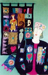 24_folk_art, Pavelka Design Independent sewing patterns, interesting sewing patterns, decorated applique jacket and quilt pattern