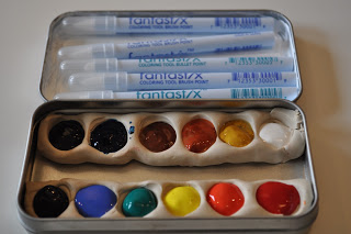 watercolor box Sculpey