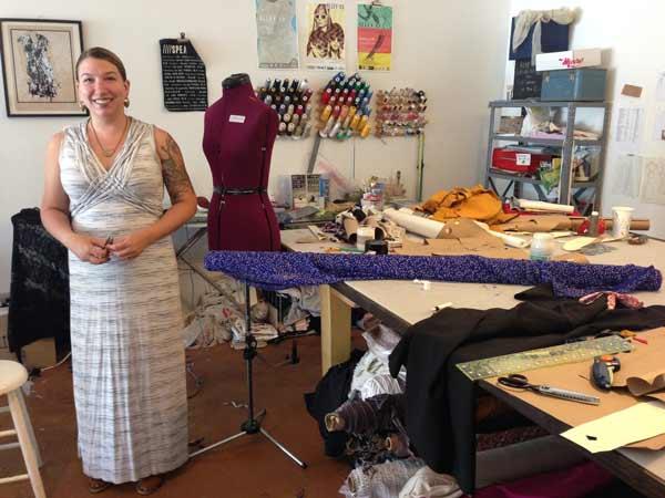Amelia-sewing-Portland