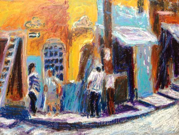 Mexico travel painting
