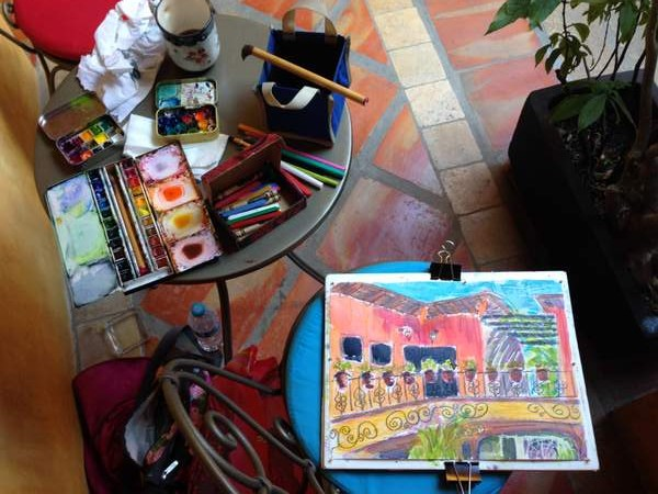 Colourful figurative painter & art blogger