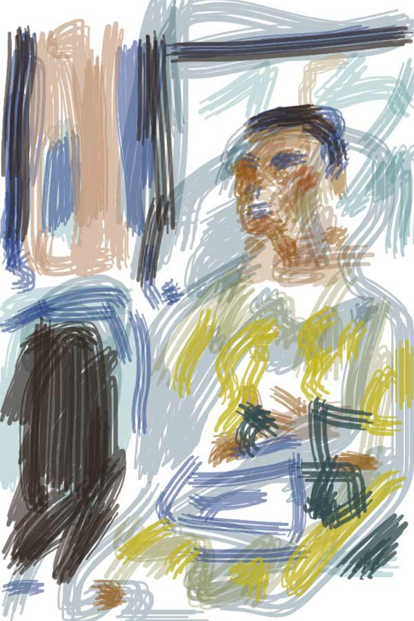 drawing and painting on iPad with Brushes App