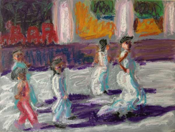 Mexico-girls-white-dresses