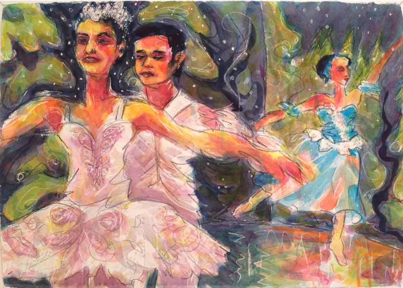 dance-ballet-watercolor-vibrant