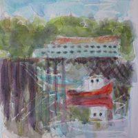 Alert Bay plein air painting trip