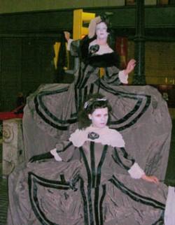 Costume drama in Barcelona