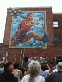 Mural Mosaic unveiled in Sherbrooke, QC