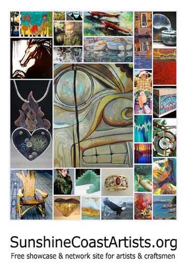 Sunshine Coast BC Canada fine artist directory