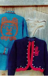 27_bear native art, Pavelka Design Independent sewing patterns, interesting sewing patterns, decorated applique jacket pattern