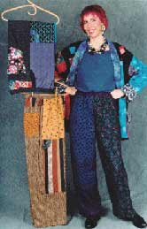 Patchy Pants, Pavelka Design Independent sewing patterns, interesting sewing patterns, decorated womens trousers pants pattern up to plus size