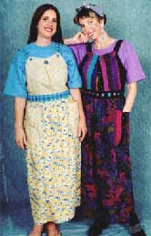Perky Pinafore, Pavelka Design Independent sewing patterns, interesting sewing patterns, pieced pinafore apron dress pattern up to plus size