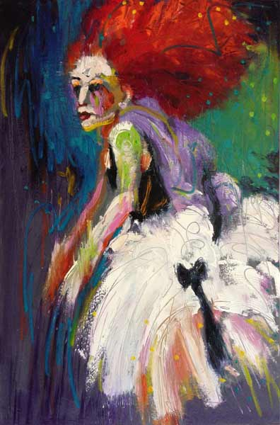 bold expressive dance painting, exciting figurative art, Vancouver, BC, Canada, Seattle