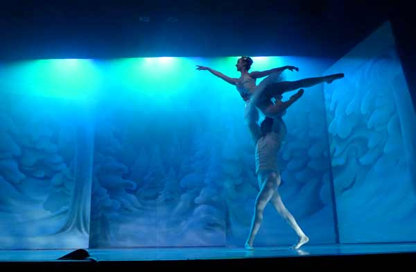 Nutcracker entrance of Snow Queen