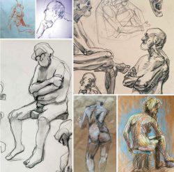 Nude drawings irk festival