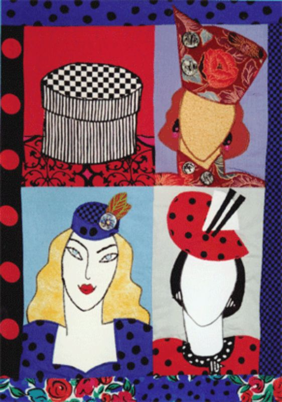 13_hats__womens_faces_quilt
